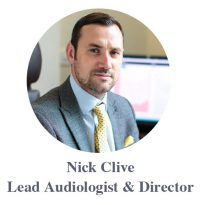 Portrait picture of Nick Clive - Lead Audiologist & Director